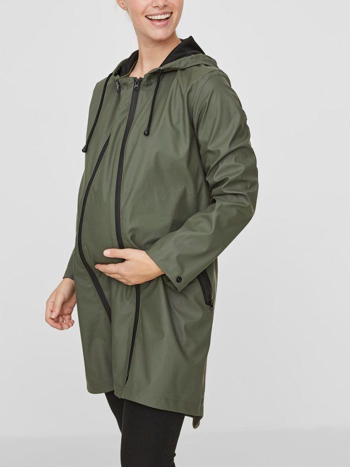 dfefc3cd59b42 2-in-1 rain maternity jacket   MAMALICIOUS   2019FW in 2019 ...