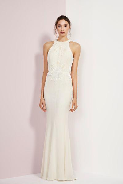 Rachel Gilbert Fall 2014 Kinga gown.