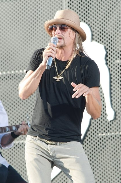 Kid Rock--He is such a kind-hearted, giving person...especially to the State of Michigan
