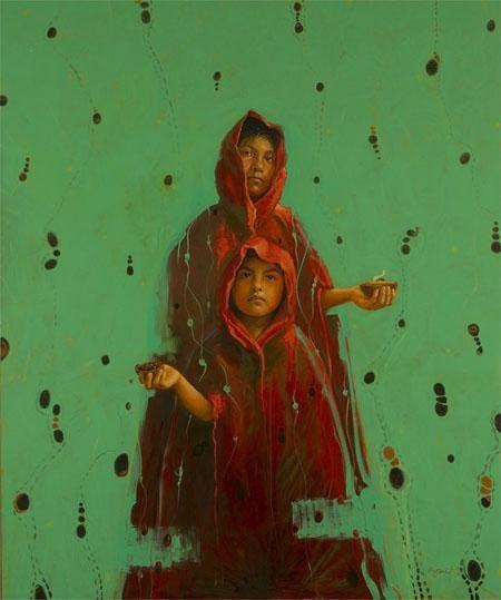 Artes Visuales: Encuentro de sensibilidades Autor: Kansuet (Lucio López Cansuet). Panamá