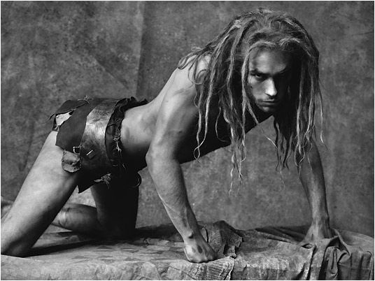 Josh Strickland as Tarzan by the incredible Ruven Afanador, who shot a phenomenal series of photos for the book