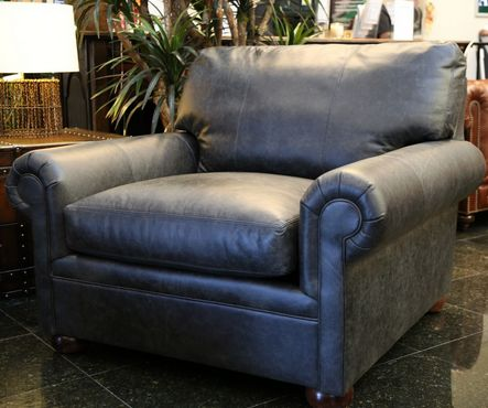 A Beautiful Over Sized Leather Accent Chair Is Just What You Need To To  Incorporate