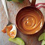 for the apple/carrot cake!!! Yummy!!!!  Apple Cider Caramel Sauce Recipe | MyRecipes.com