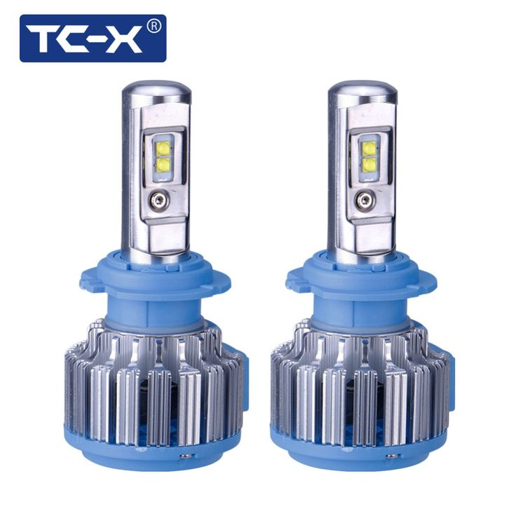 TC-X 2 Bulbs/Set Guaranteed LED Car Light H7 H1 H3 H11 9006/HB4 9005/HB3 H27/880 9012 Driving Passing Beam Fog Light Replacement //Price: $152.00      #sale