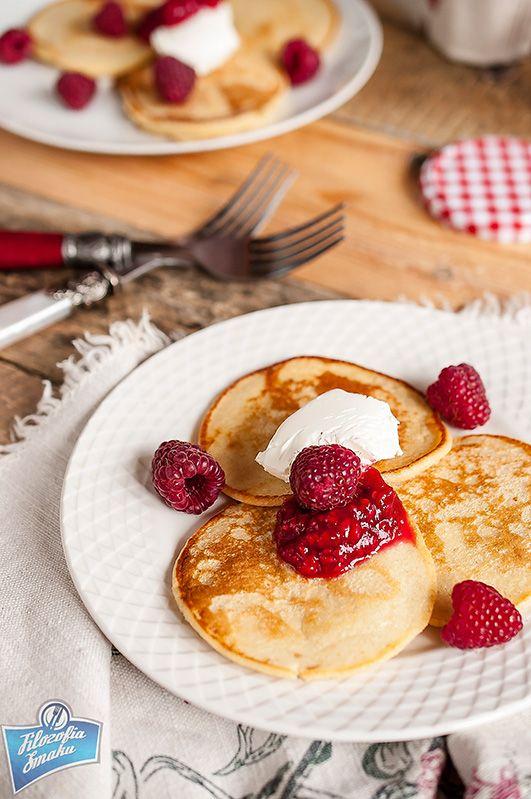 Placki z mąki owsianej - śniadanie