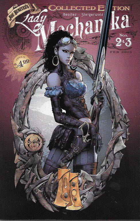 Lady Mechanika Collected Edition # 2 Joe Benitez Production / Aspen Comics