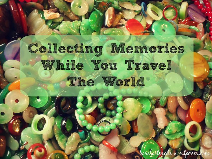 Collectibles For Your Trip Around The World on Semester at Sea #semesteratsea #travel
