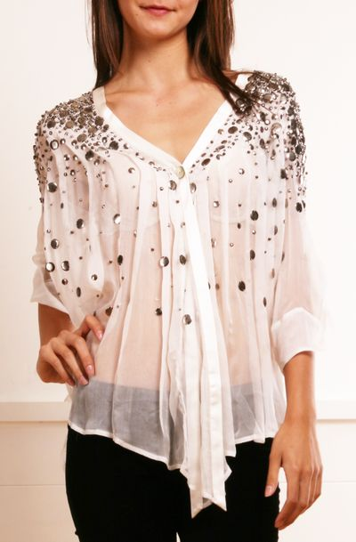 17 best ideas about Chiffon Blouses on Pinterest | Work blouse ...