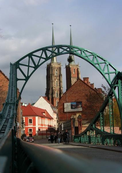 Ostrów Tumski, Wrocław, Poland