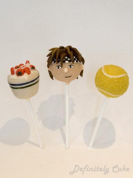 how to serve a ball cake