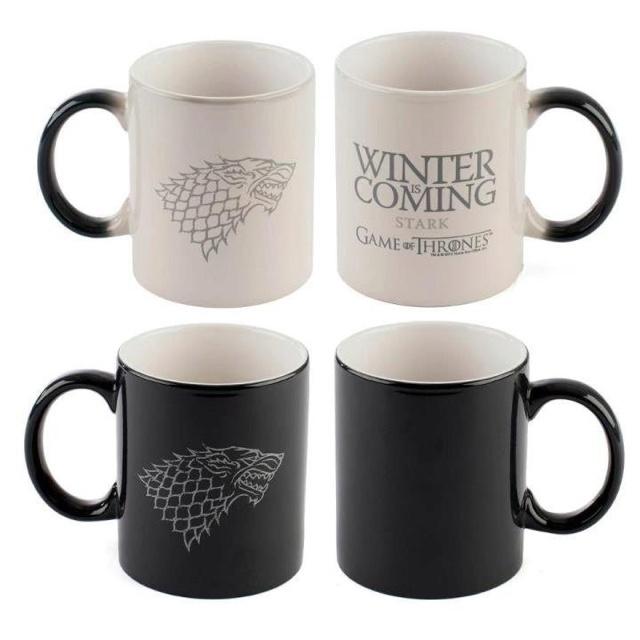 Der Winter naht..Thrones Winter, Winter Is Coming, Gift Ideas, Games Of Thrones, Heat Sensitive, Gameofthrones, Winter Is Come, Game Of Thrones, Mugs
