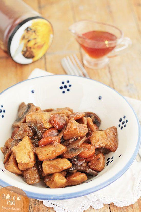 Una receta fácil de pollo: os enseñamos a preparar pollo a la miel. Si os gusta el pollo, os encantará esta receta paso a paso.