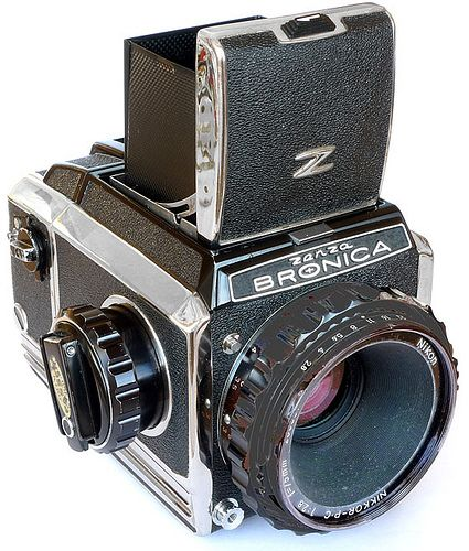 Bronica S2a (1969). by Howard Somerville, via Flickr