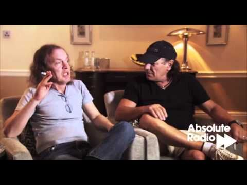 AC/DC: Interview - Angus Young and Brian Johnson,Ben Jones speaks to Angus Young and Brian Johnson from AC/DC about their new live DVD Live at River Plate. They also discuss what they were doing while on a break between albums, how they carry out the recording process of their albums, having fun together, how interviews are a pain in the arse, the follow-up to Black Ice... and much, much more.