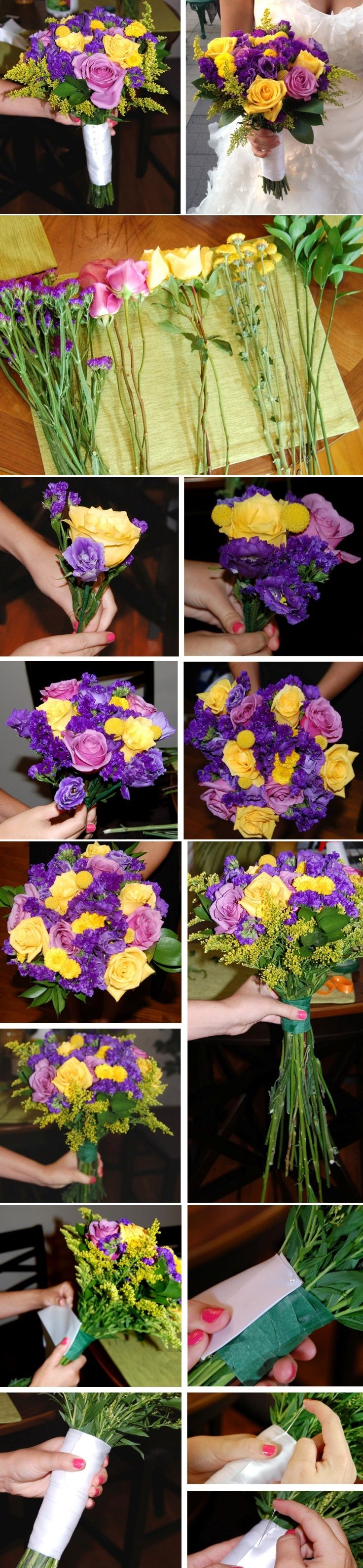 Top 10 Unique DIY Wedding Bouquets Katelin this is super easy for us to do.