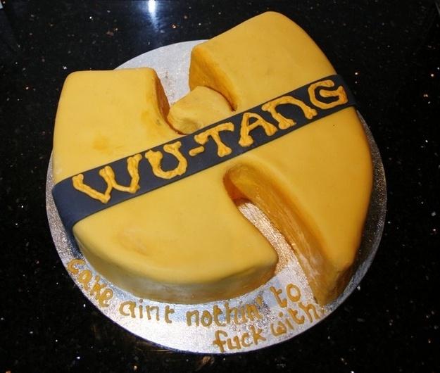 Wu Tang cake. Yesssss
