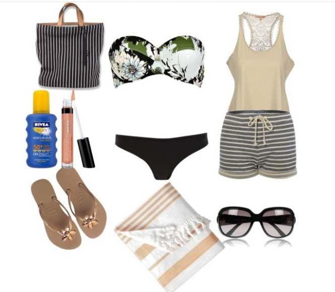 θηλυκό σύνολο για να χαρείτε τις ώρες στην παραλία με στυλ