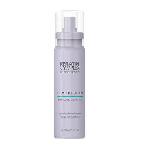 Keratin Complex Thermo Shine Žvilgesio suteikiantis, apsaugantis plaukų purškiklis 100ml