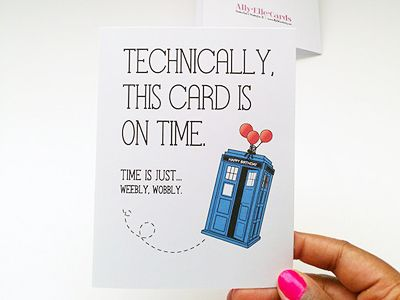 25 best ideas about Dr who birthday card – Doctor Who Birthday Card