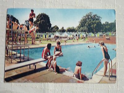PC of the Swimming Pool & Chalets, Warner's Norton Chalet Village, Isle of Wight