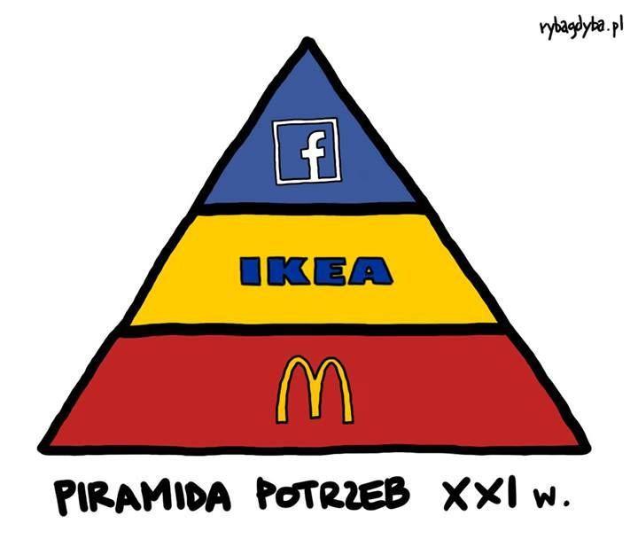 #Maslow byłby zdumiony, jak bardzo zmieniła się piramida potrzeb...