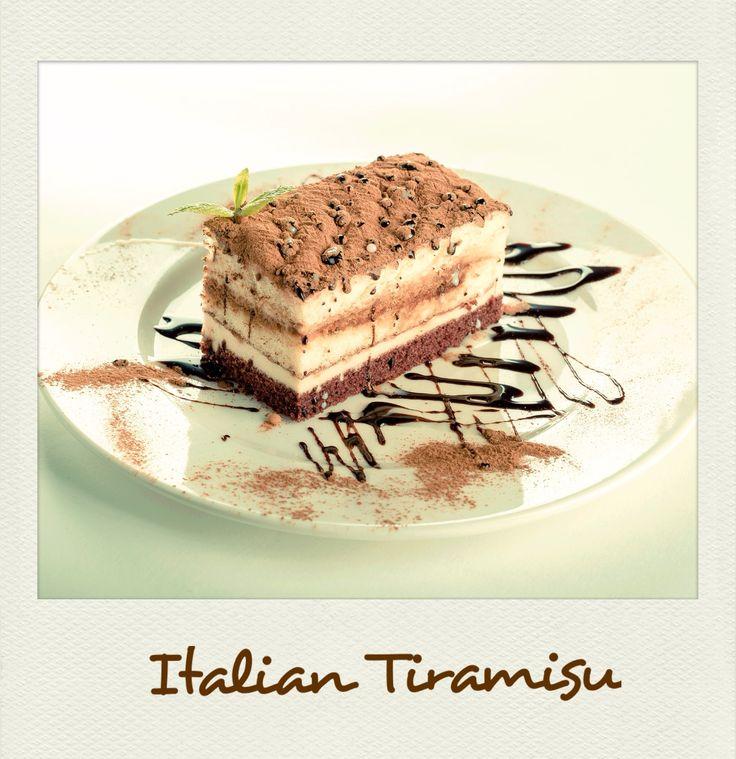Irresistible #Italian #Tiramisu. #PolaroidFx #Polaroid #Food #Sweet #Yummy #Dessert #Italy #Rome