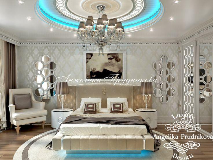Дизайн проект интерьера квартиры в жилом комплексе Остоженка 11 в стиле Ар Деко - фото