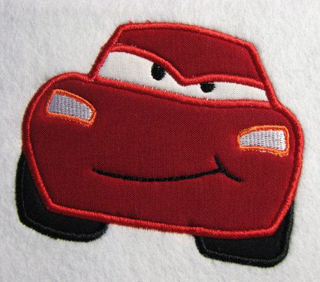 Cars Lightning McQueen No 95 Car Embroidery by AppliqueDazzle, $3.50