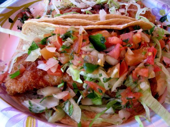 Fish Tacos . . . YES!