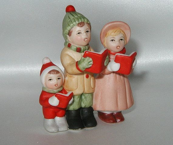 Ceramic Christmas Caroler Figurines Parma By Thepokeypoodle: 16 Best Lefton Christmas Figurines Images On Pinterest