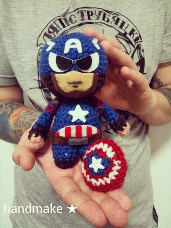 Captain America Civil War  toy in a mask and by Superheroestoys
