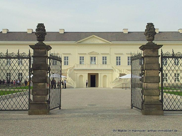 Epic DSL Bankette Schloss Herrenhausen Hannover Ansicht von den Herrenh user G rten aus mit