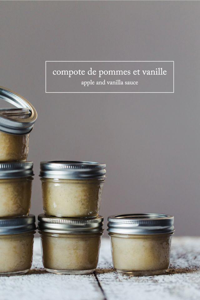 Compote de pommes et vanille | www.christelleisflabbergasting.com