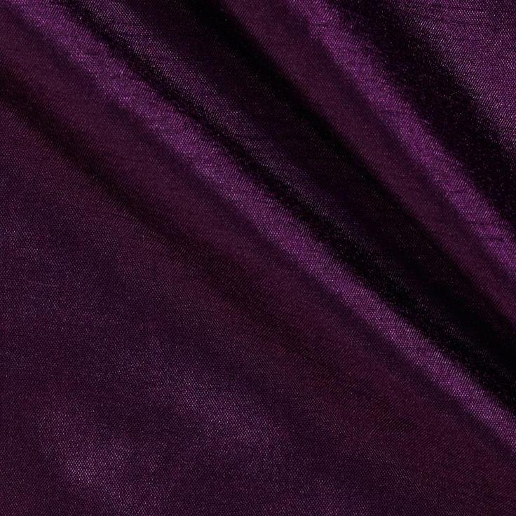 120 Faux Dupioni Majestic Purple
