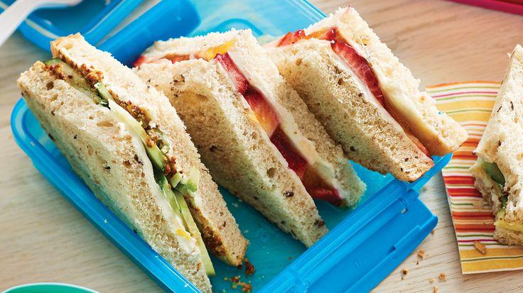 Cream Cheese Sandwiches Two Ways