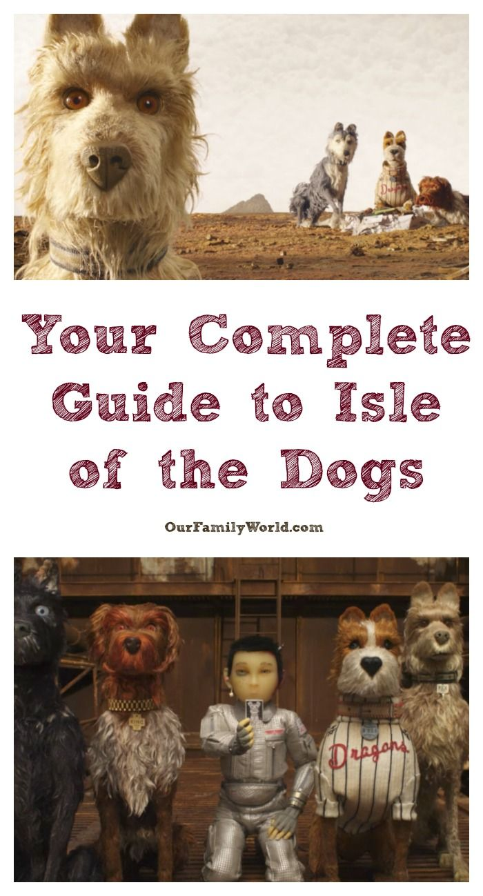 7 Quotes From The Isle Of Dogs To Help You Get Ready For This