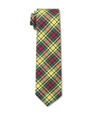 53% OFF Gitman Men's Multi Plaid Tie, Yellow