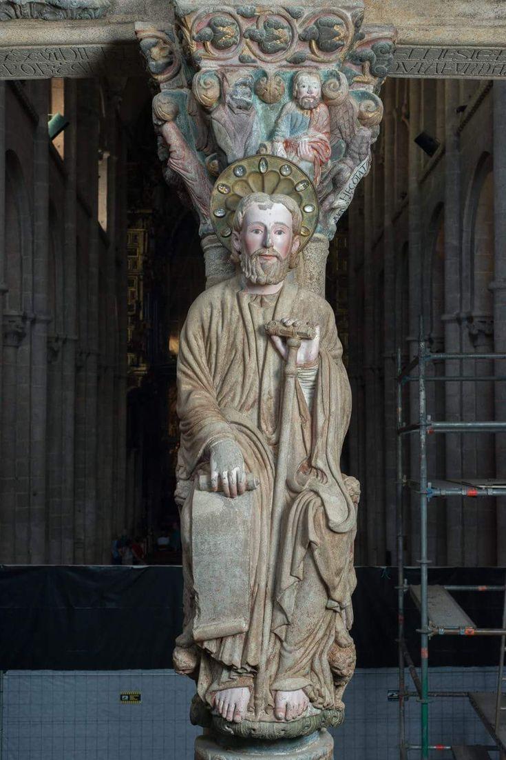 Resultado de imagen de santiago apostol portico gloria