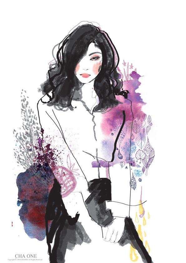 이별의슬픔이별의슬픔을 표현한 스타일,패션일러스트  이별의슬픔을 표현한 스타일,패션일러스트