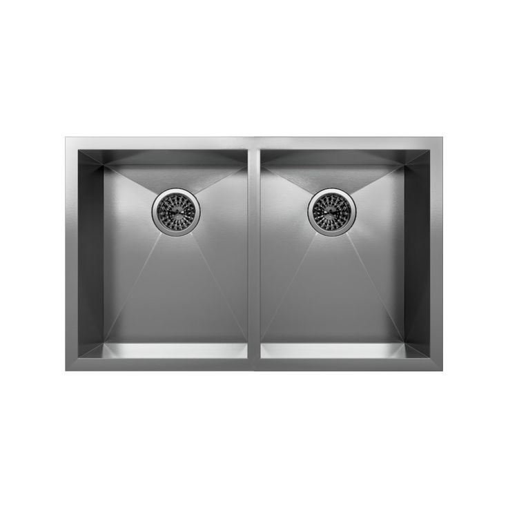 Cantrio Koncepts KSS 002 Undermount Double Basin Kitchen Sink  Stainless  Steel   Lowe s Canada297 best Off White Kitchen Cabinets images on Pinterest   White  . Lowe S Canada Kitchen Cabinets. Home Design Ideas