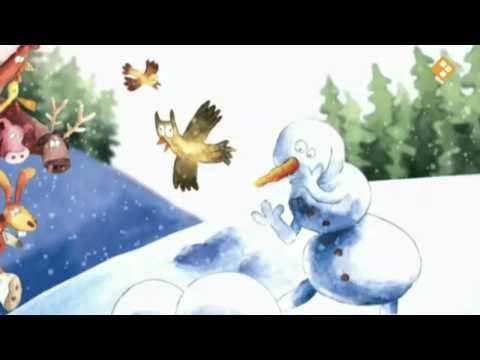 ▶ Wat is de sneeuwman aan het doen? (digitaal prentenboek) - YouTube