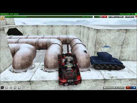 Tank Man Presents: Parkour by Tanki Online (GEO) 13.10.2012