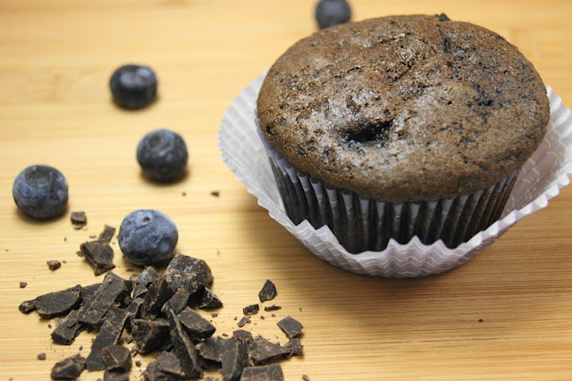 Dark Chocolate Blueberry Muffins: Kitchens, Cooking Challenges, Dark Chocolates, Chocolates Blueberries, Blueberries Muffins, Mixed Chocolates, Muffins Crazy, Playgrounds, Crazy Cooking
