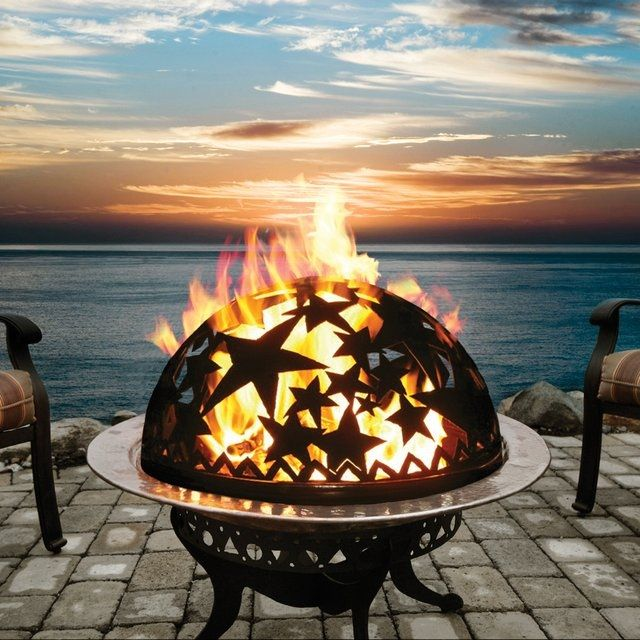 Starry Night Fire Dome