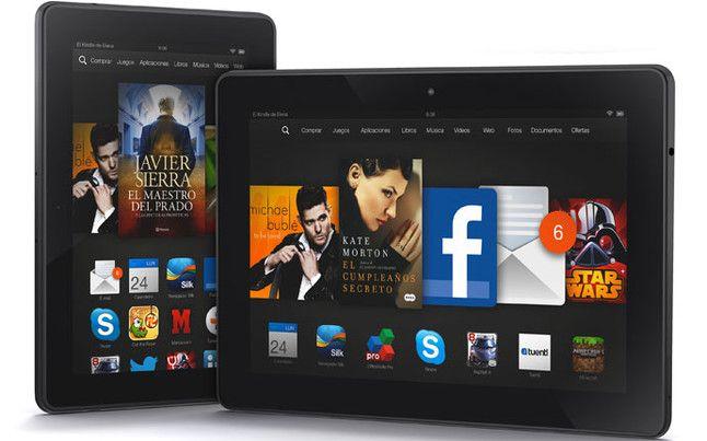 Consigue una Tablet Kindle de Amazon