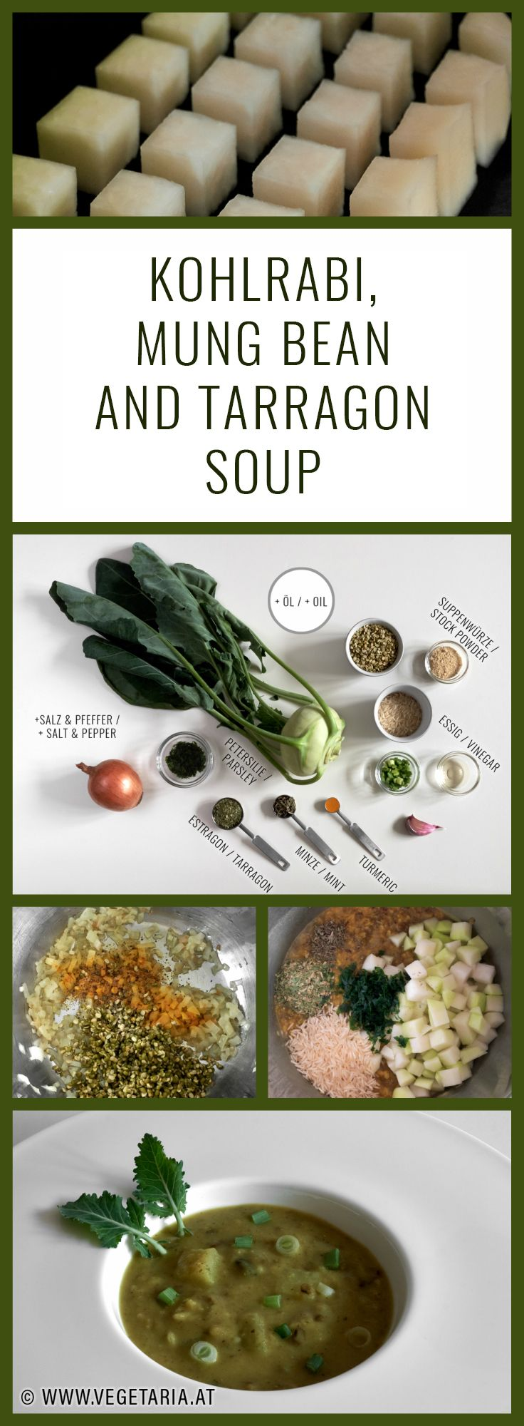 Perfect for cold winter weather, this thick and hearty soup is a wonderful way to eat your greens.