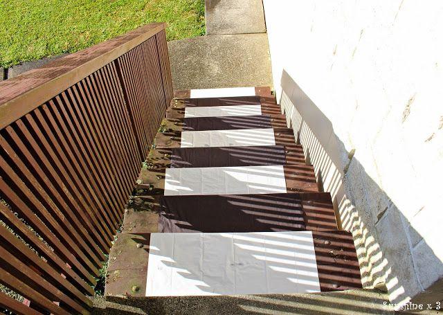 Zebra Party - zebra crossing stairs