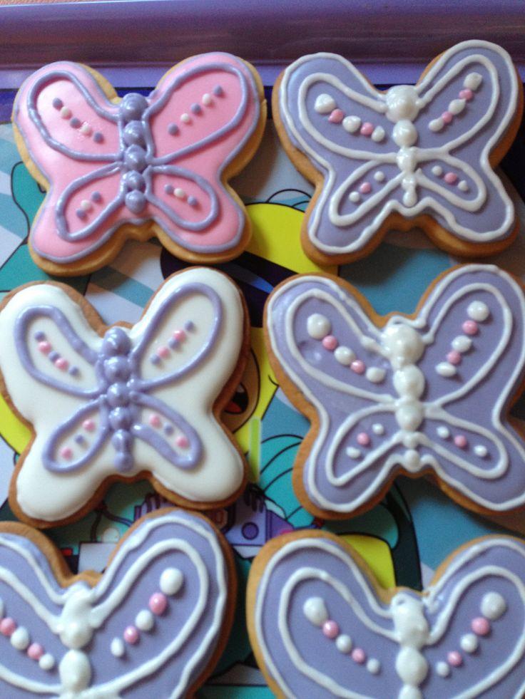 Cookies Mariposas