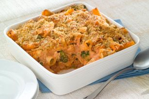 Creamy Tomato-PHILLY Baked Rigatoni recipe