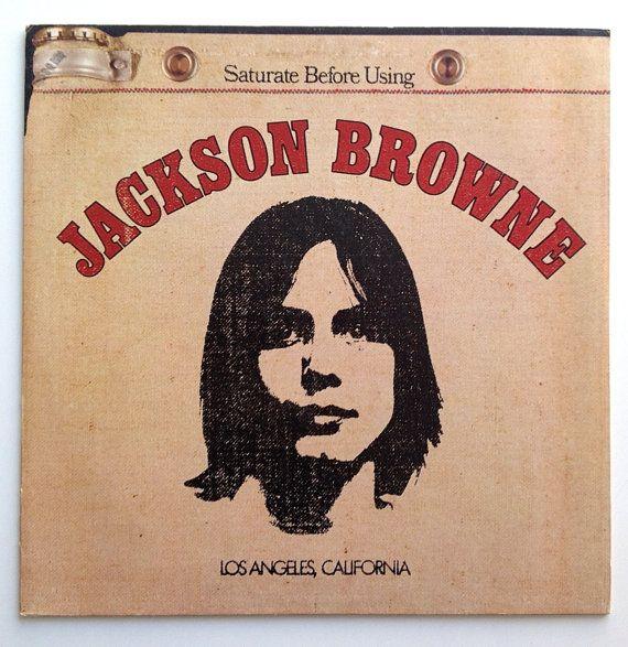 Jackson Browne - Self Titled LP Vinyl Record Album, Asylum Records - SD 5051, Rock, Acoustic, 1972, Original